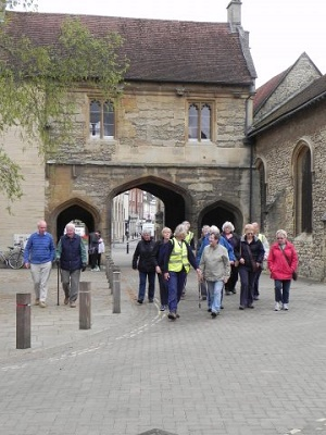 Go Active walk in Abingdon