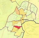 Abingdon map of deprived areas